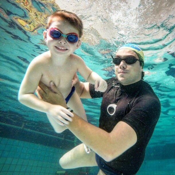 Aplicando o lúdico nas aulas de natação