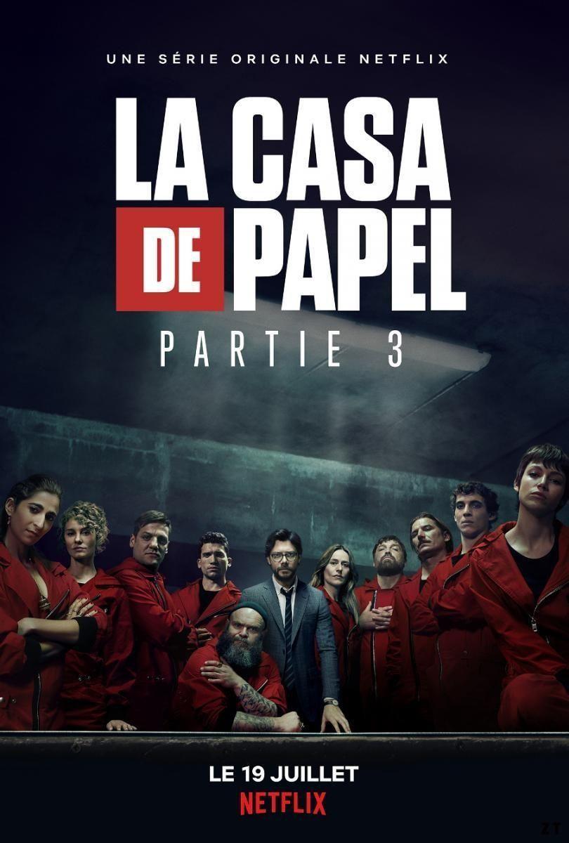 Casa De Papel Streaming Gratuit : papel, streaming, gratuit, Papel, S03E01, FRENCH, Series, Online,, Netflix,, Drama