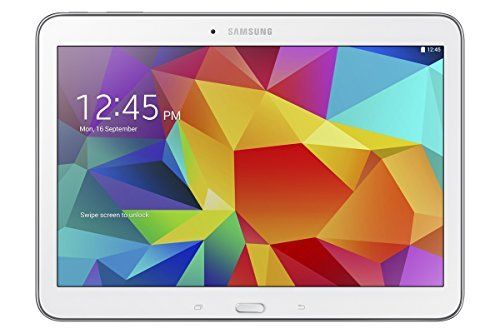 Samsung Galaxy Tab 4 10.1-inch Tablet (White) - (Quad Core 1.2GHz, 1.5GB RAM, 16GB Storage, Wi-Fi, Bluetooth, 2x Camera, Android 4.4), http://www.amazon.co.uk/dp/B00KLEDHIW/ref=cm_sw_r_pi_awdl_vk.Svb02N8PZP