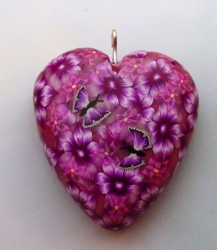 Heart and flowers....