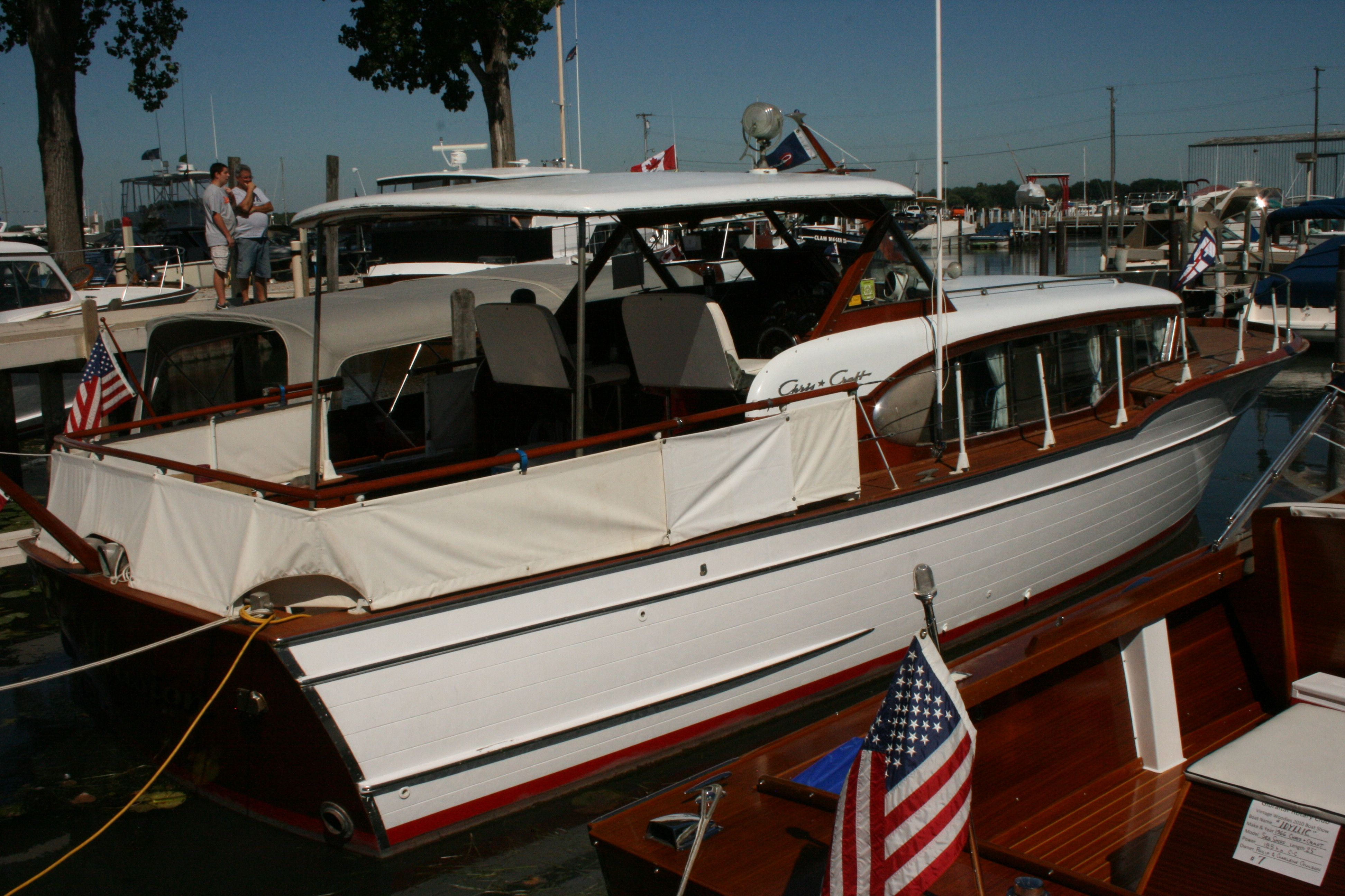 Our 1958 35ft Chris Craft constellation