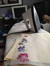 Wie man zusammensetzen Marker macht jener Blumen mit Fe drückt #Blumen #jener #…