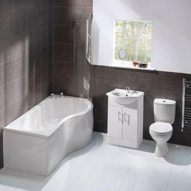 Orta 1700mm Showerbath Suite Right Hand Best Sellers Showerbath Suites Best Sellers Bathroom Suites Cheap Bathroom Suites Complete Bathrooms