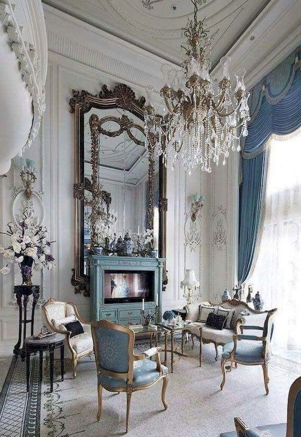 20 Beautiful French Country Living Room Decor Ideas French
