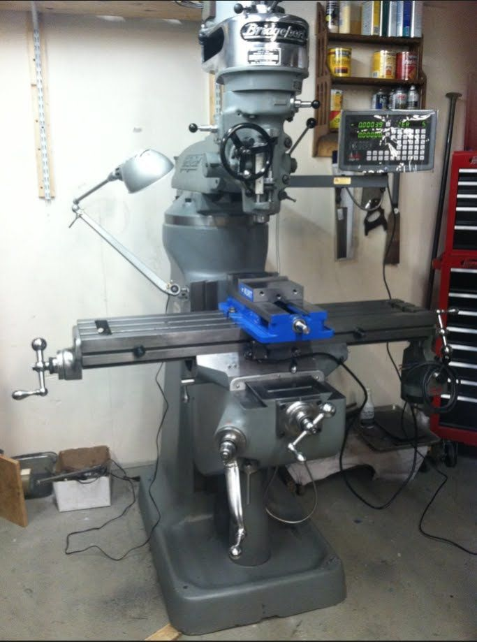Bridgeport Mill For Sale >> Bridgeport Milling Machine Restoration Slideshow Use This