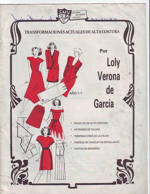 Alta Costura por Loly Verona | Libros corte y confeccion | Pinterest ...