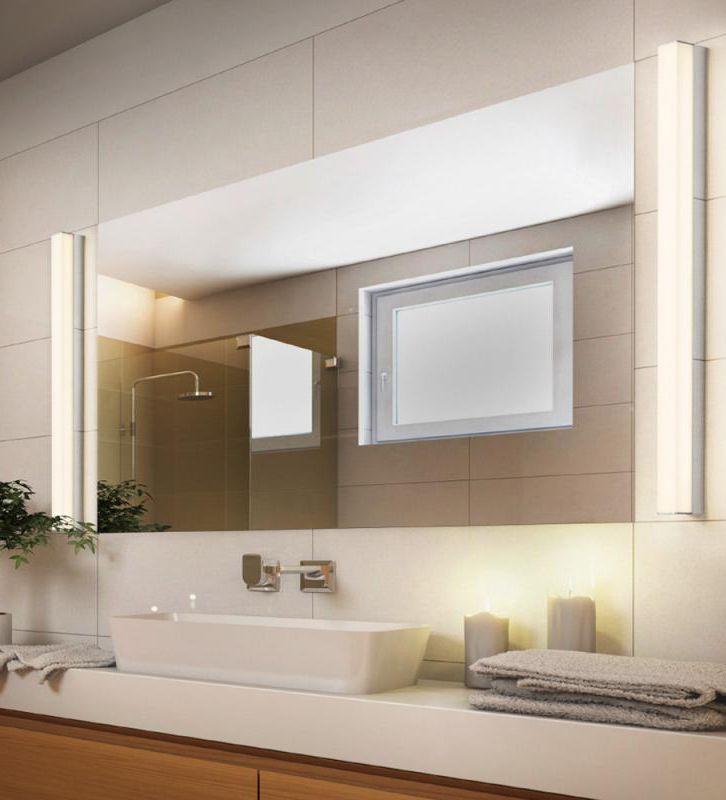 Helestra LADO LED: Eine Schicke Leuchte Fürs Bad Ist Die LED Wand  Und
