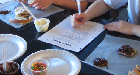 Rock Candy, Sedimentary Rock with education and lots of fun from this site.