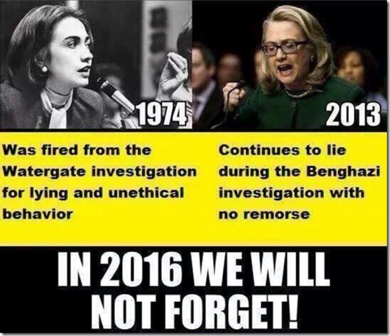 Just In Case Hillary Forgets? America Will Never Forget Benghazi…