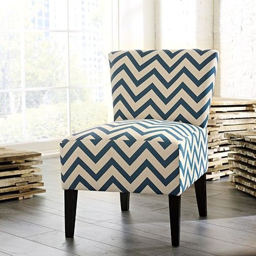 Verny Accent Chair Blue Ashley Furniture 33 Off
