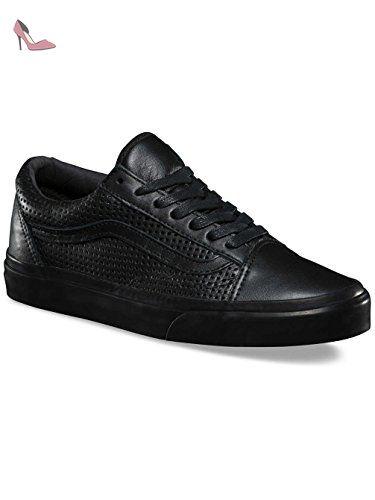 Chaussures Vans – Old Skool Dx (Square Perf) noir/noir taille: 42 ...