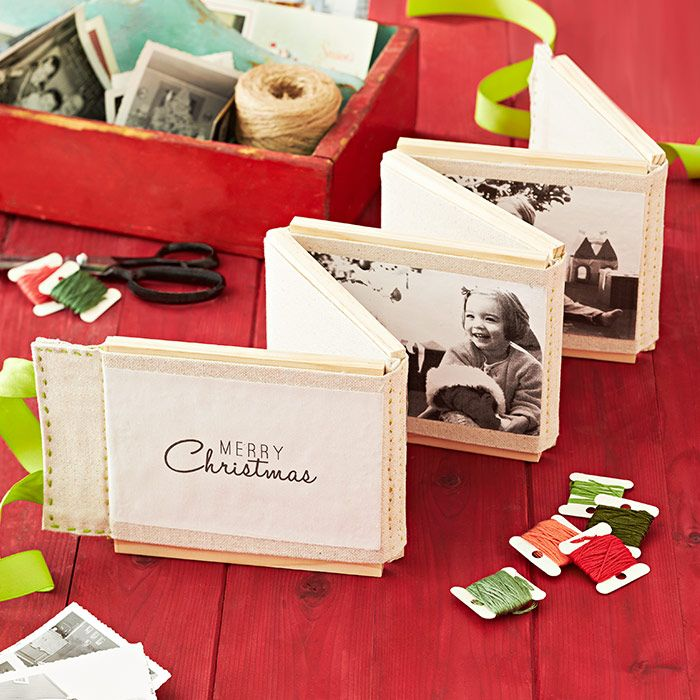 Great Diy Christmas Gift: This Customized DIY Photo Display Makes A Great Christmas
