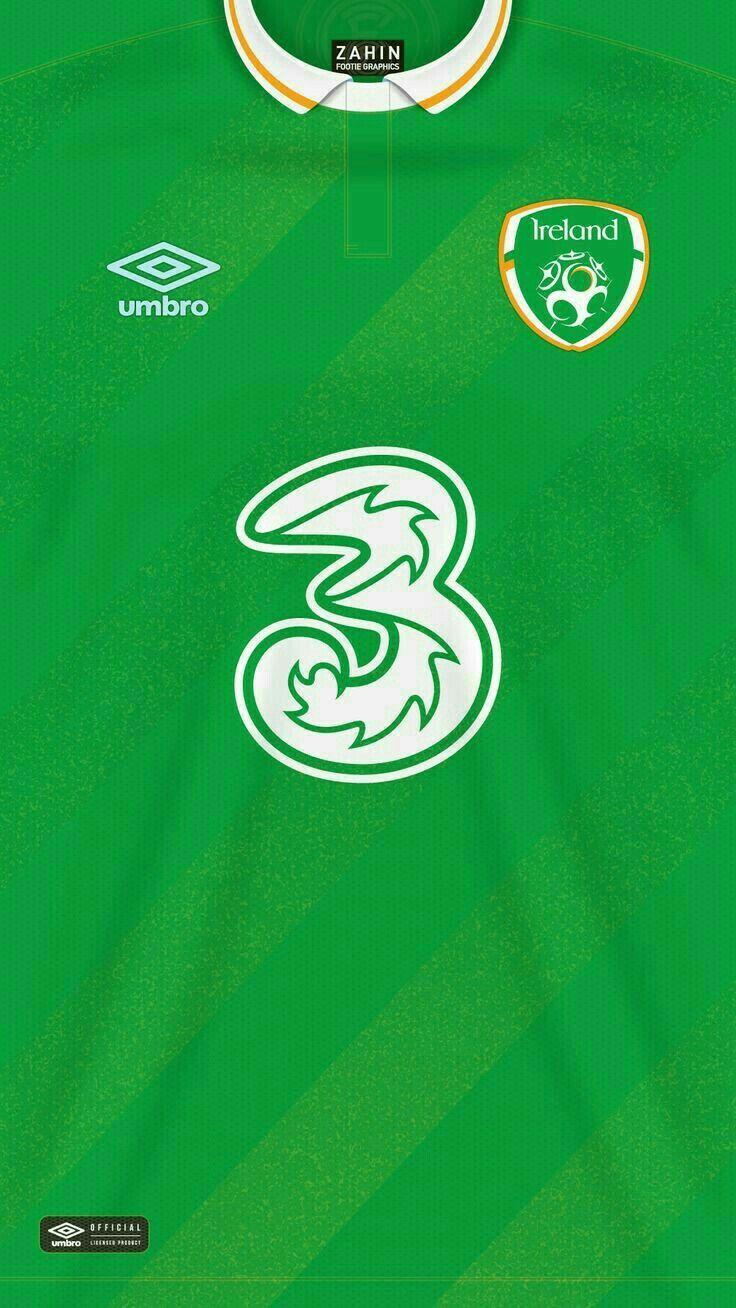 Ireland 16-17 kit home Equipamento De Futebol b77e5eecdb74c