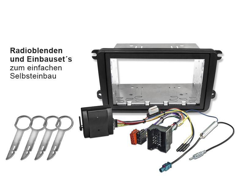 Hier findest Du eine riesige Auswahl an Radioblenden und Einbauset´s zum einfachen Selbsteinbau.