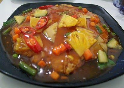 Resep Cara Membuat Fuyunghai Sedap Babi Asam Manis Resep Makanan Resep