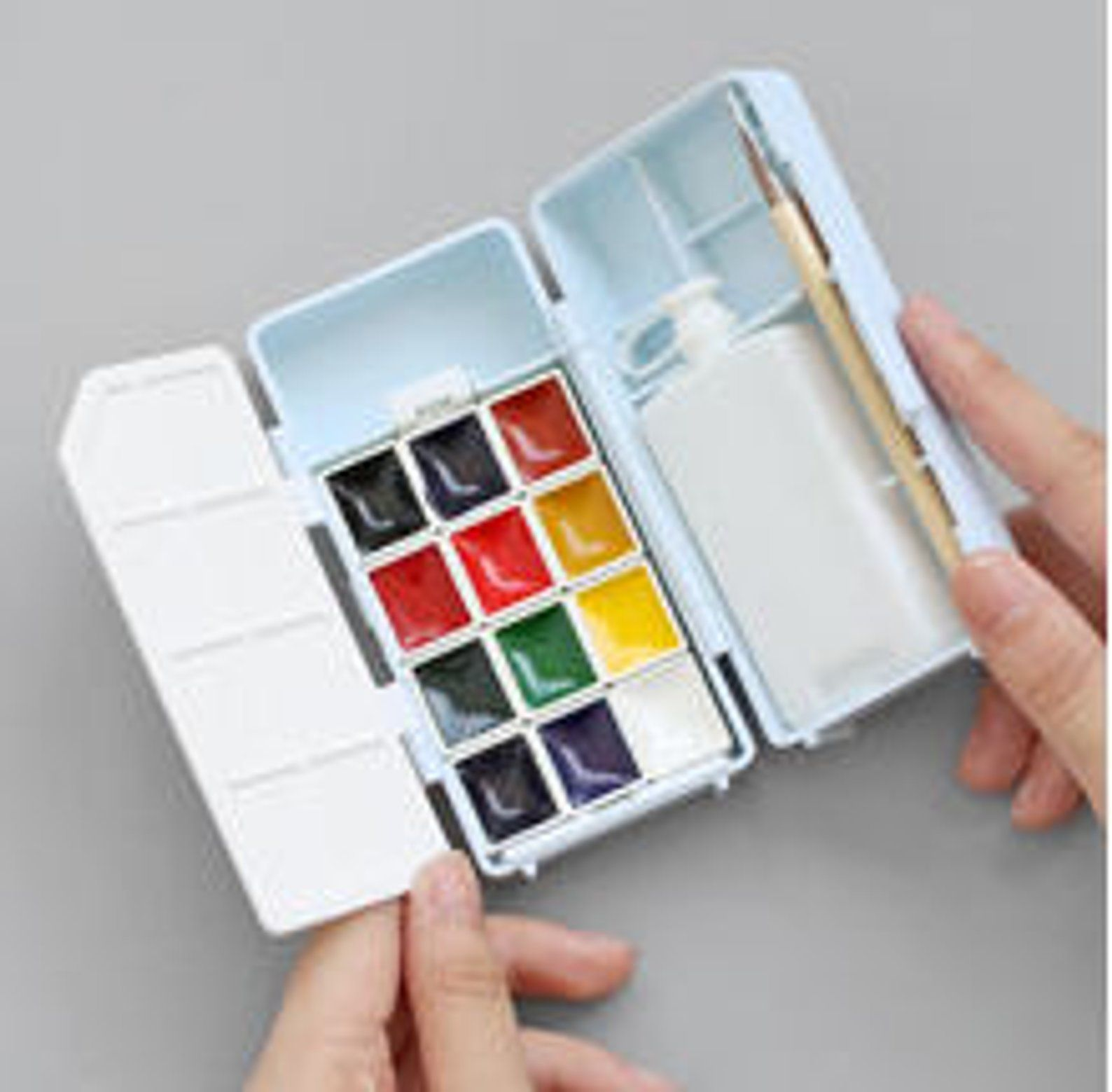 Kuretake Travel Paint Set Travel Paint Pans Watercolor Palette