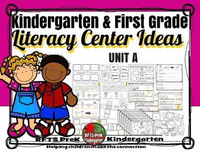 NO PREP!! Kindergarten 1st Grade Literacy Center [UNIT A] PR! Enter for your chance to win 1 of 10.  NO PREP!! Kindergarten 1st Grade Literacy Center [UNIT A] PRINT-N-GO (46 pages) from RFTS PreK-Kindergarten on TeachersNotebook.com (Ends on on 4-21-2015)  This pack is B&W, ready to Print-N-Go, NO PREP!! Includes seven hands-on learning center activities that reinforces the letter A through reading, writing, phonics and fun!  This pack also includes a cooperative group learning game for your…