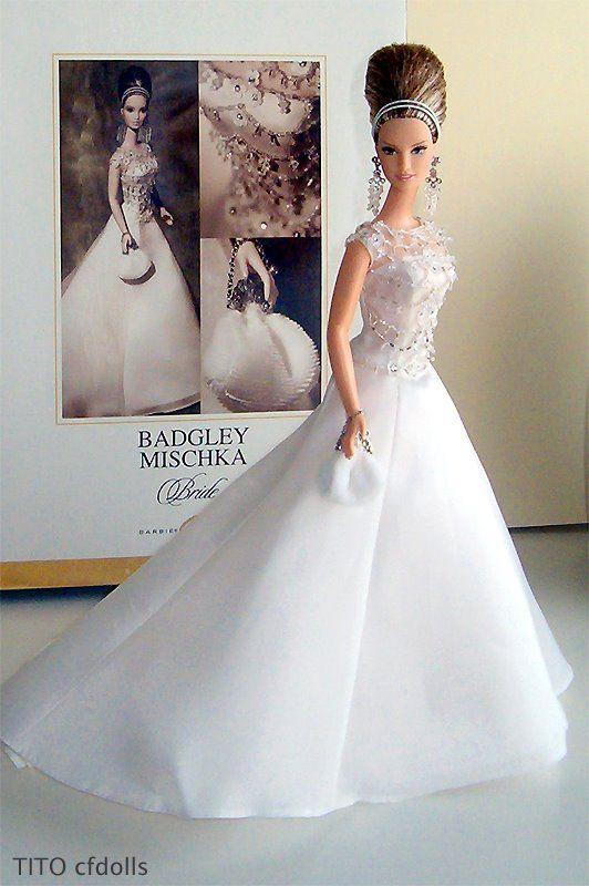 Barbie Wedding Dress.Badgley Mischka Bride Barbie I M A Barbie Girl Barbie Wedding