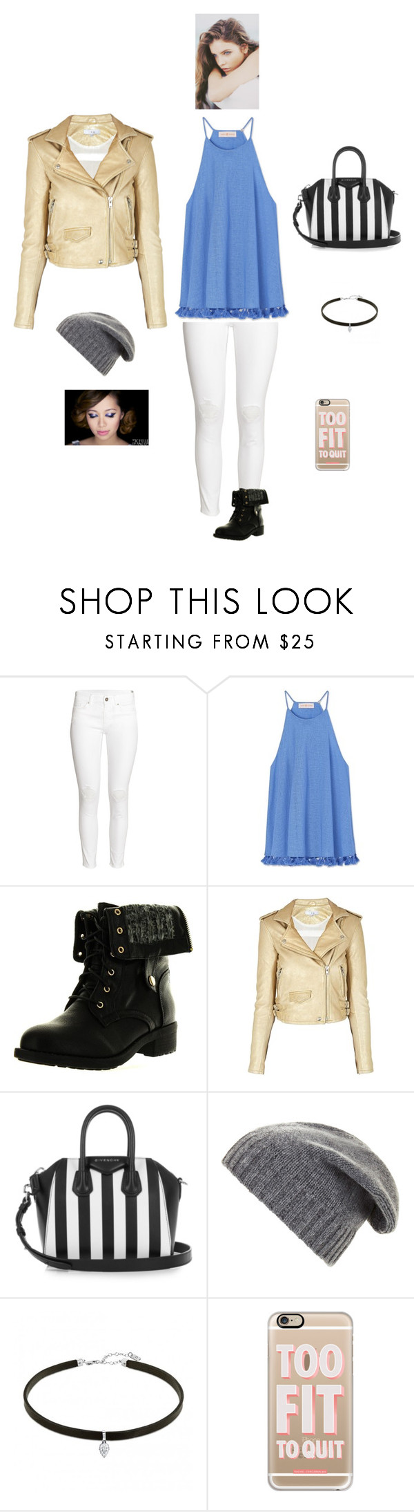 """""""K L S H F Y"""" by queen-kaitlyn ❤ liked on Polyvore featuring H&M, Tory Burch, Refresh, IRO, Givenchy, BCBGMAXAZRIA, Casetify and PATH"""