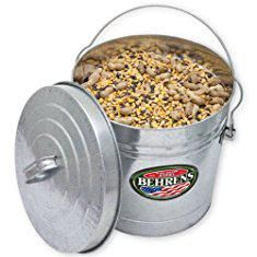 Storage Cans Behrens 6110 10 Gallon Locking Lid Can Storage