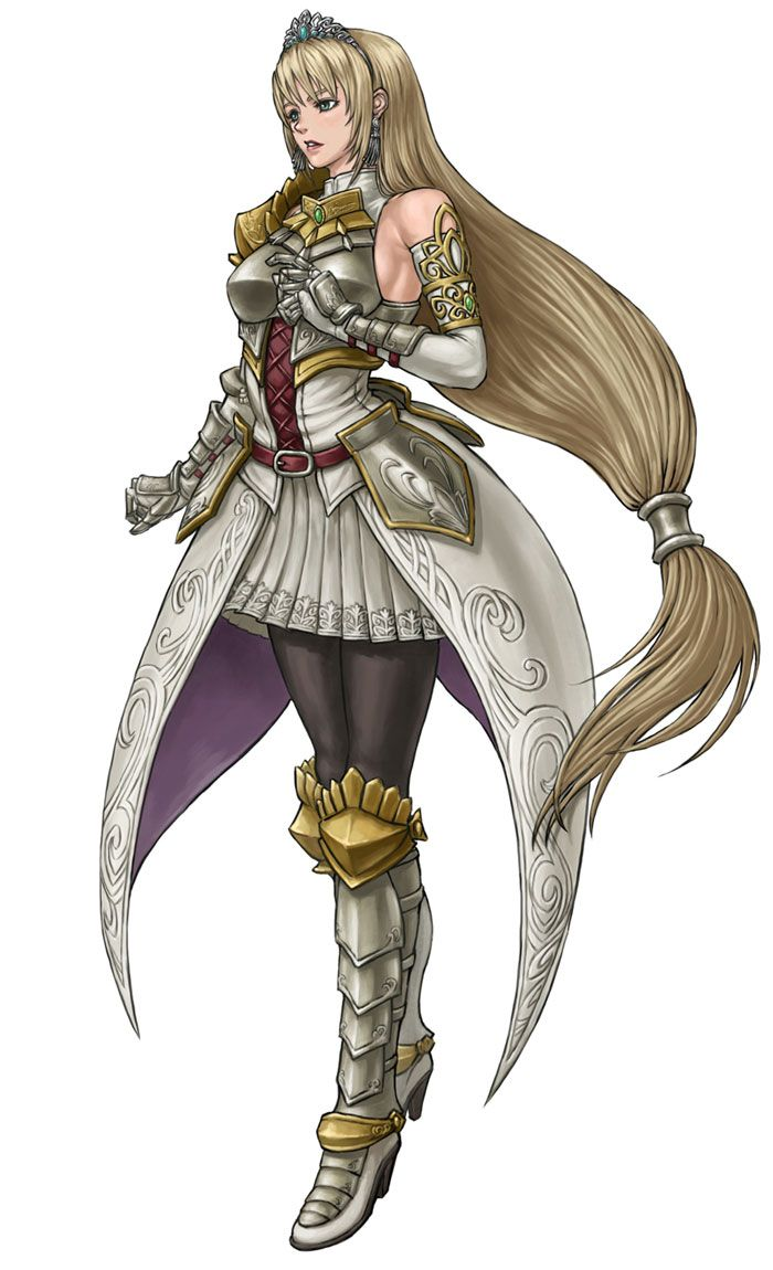 chronicles breasts knight White