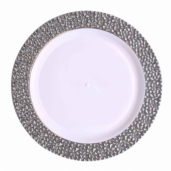 9 Inch Silver Touch Plastic Dinner Plates Tags Dinner Plates; Silver Touch; disposable  sc 1 st  Pinterest & 9 Inch Silver Touch Plastic Dinner Plates Tags: Dinner Plates ...