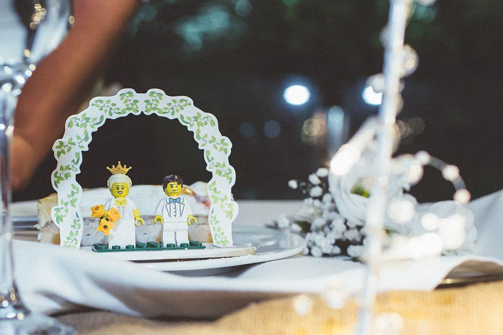 Lego cake decoration