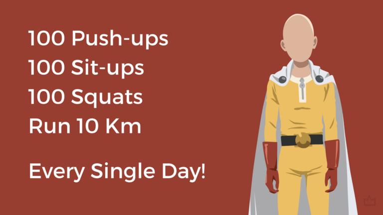 Saitama Workout Results - One Punch Man Workout: The Science of Saitama Workout ...