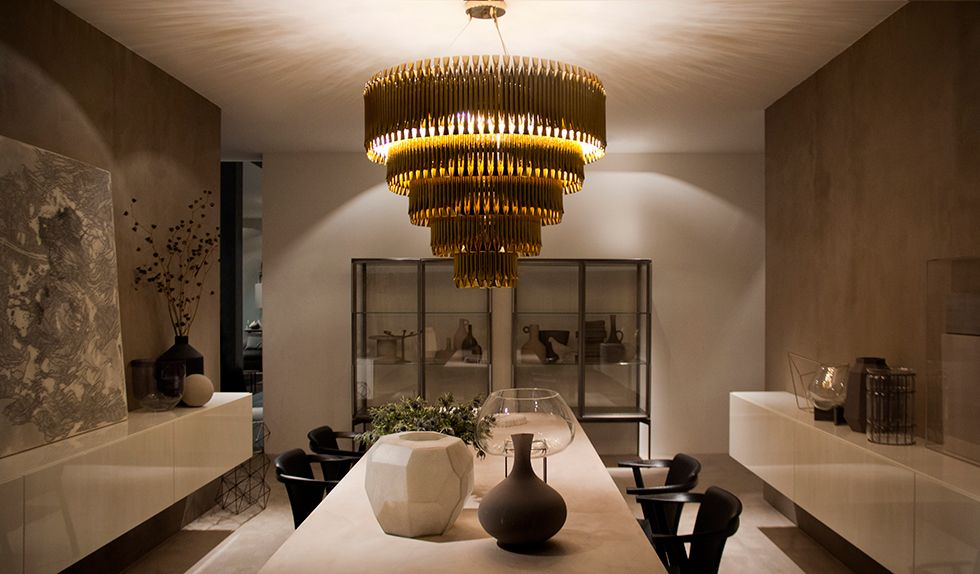 Matheny Sculptural Suspension Lamp | DelightFULL