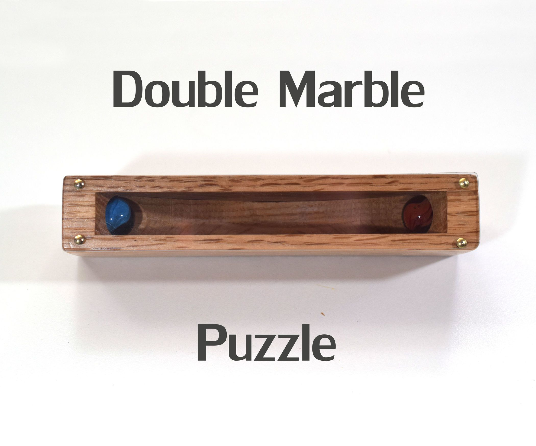 Double Marble Puzzle Wooden Toys Diy Puzzle Wood Diy