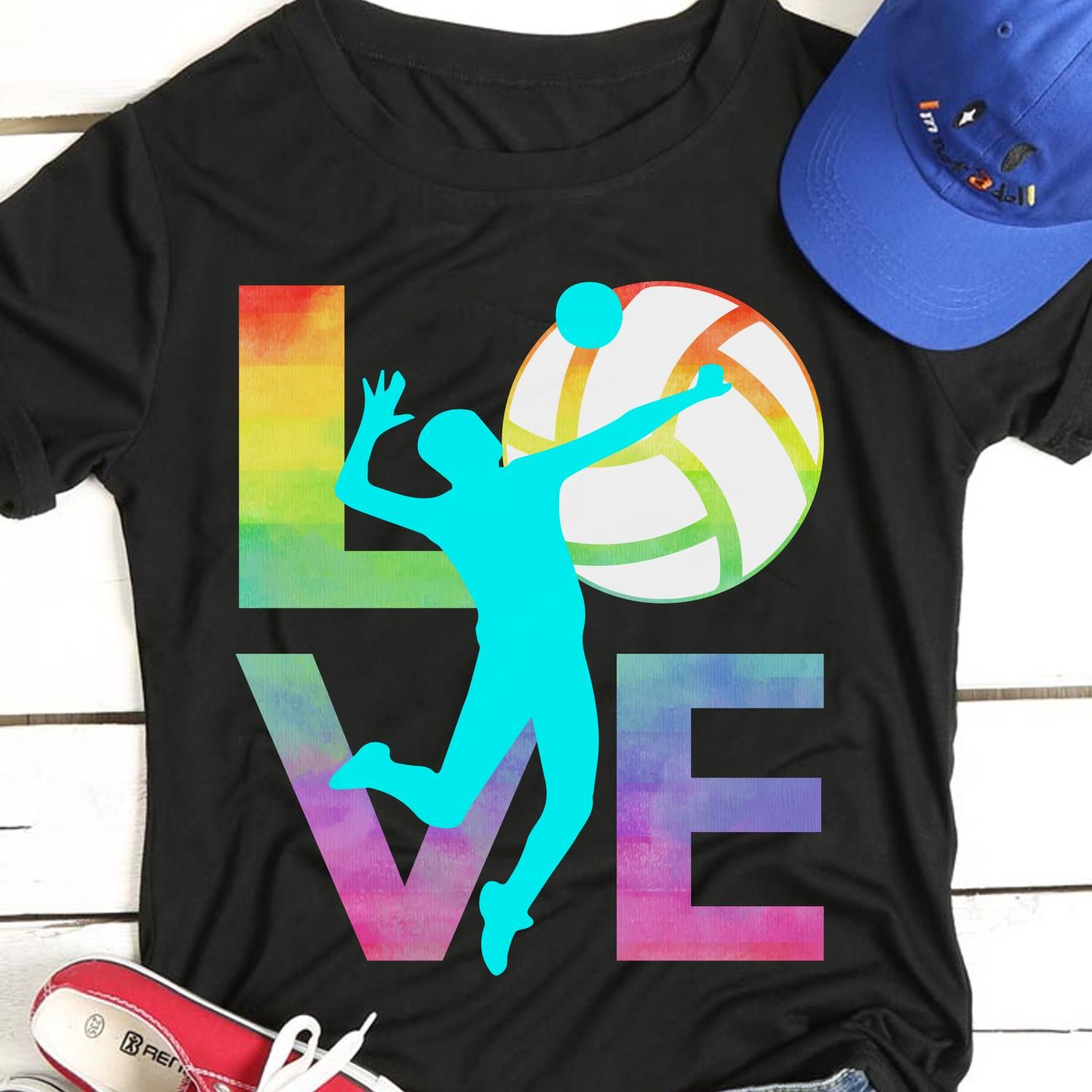 Love Volleyball Great Gifts For Volleyball Players Volleyball Lovers Mom Dad Son Daughter Sister Brother Aunt Great T Shirts Volleyball Tshirts T Shirt