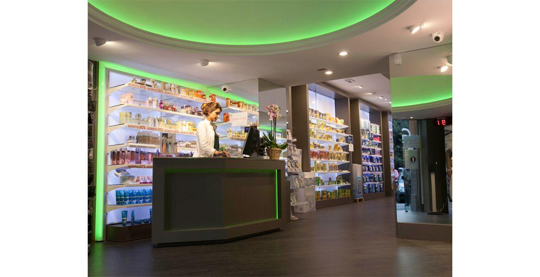 Farmacia Mazzini Design, Farmacia, Progettazione