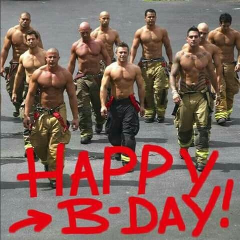 Verjaardag Vrouw Mooie Man.Verjaardagskaart Vrouw Brandweer Mannen En Mooie Mannen