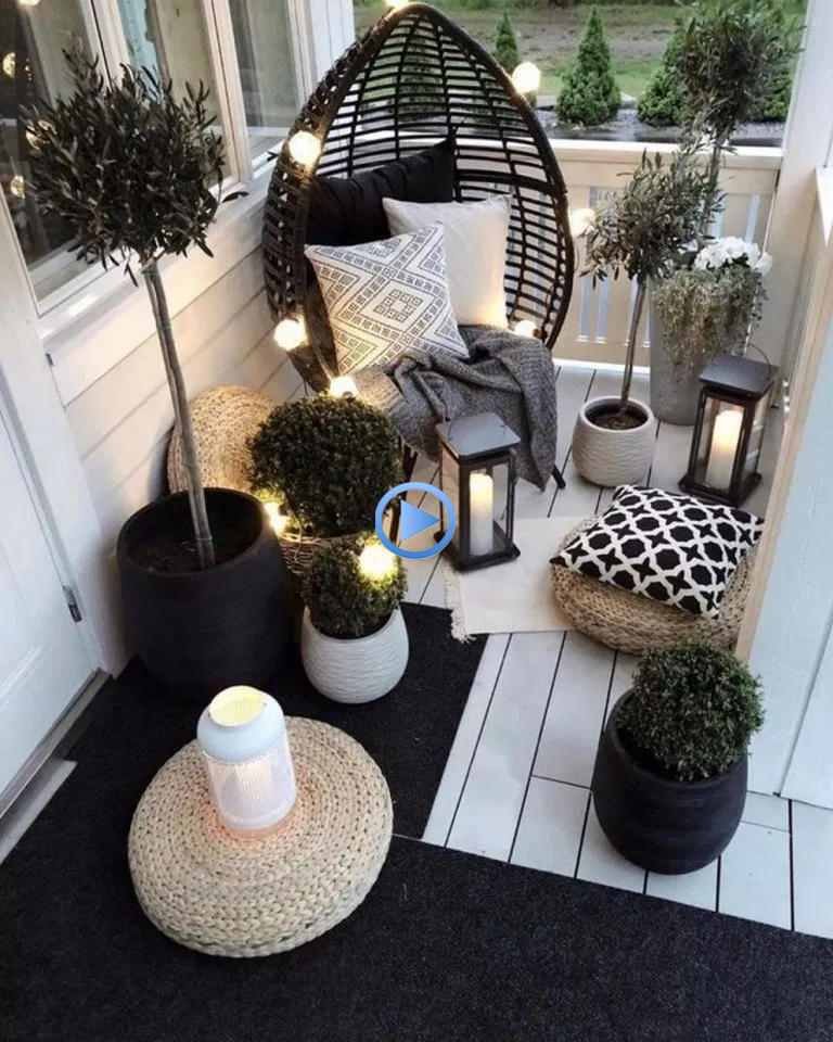 ✔64 awesome apartment balcony decorating ideas 57 #apartmentbalconydecorating … #dogfence