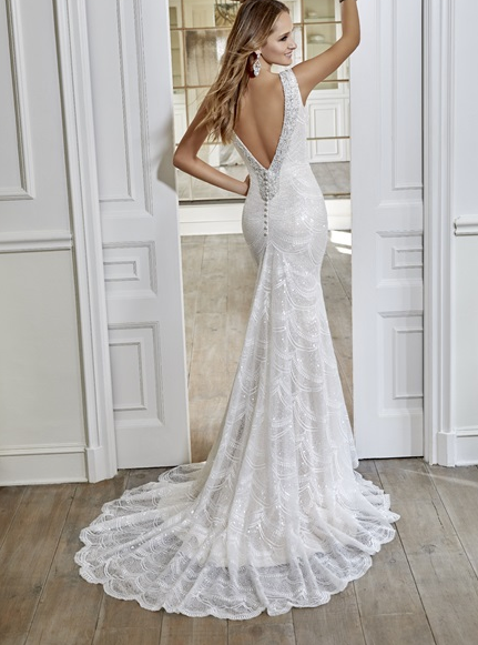 Ronald Joyce Ellie Wedding Dress Worn At The Ice Hotel In 2019