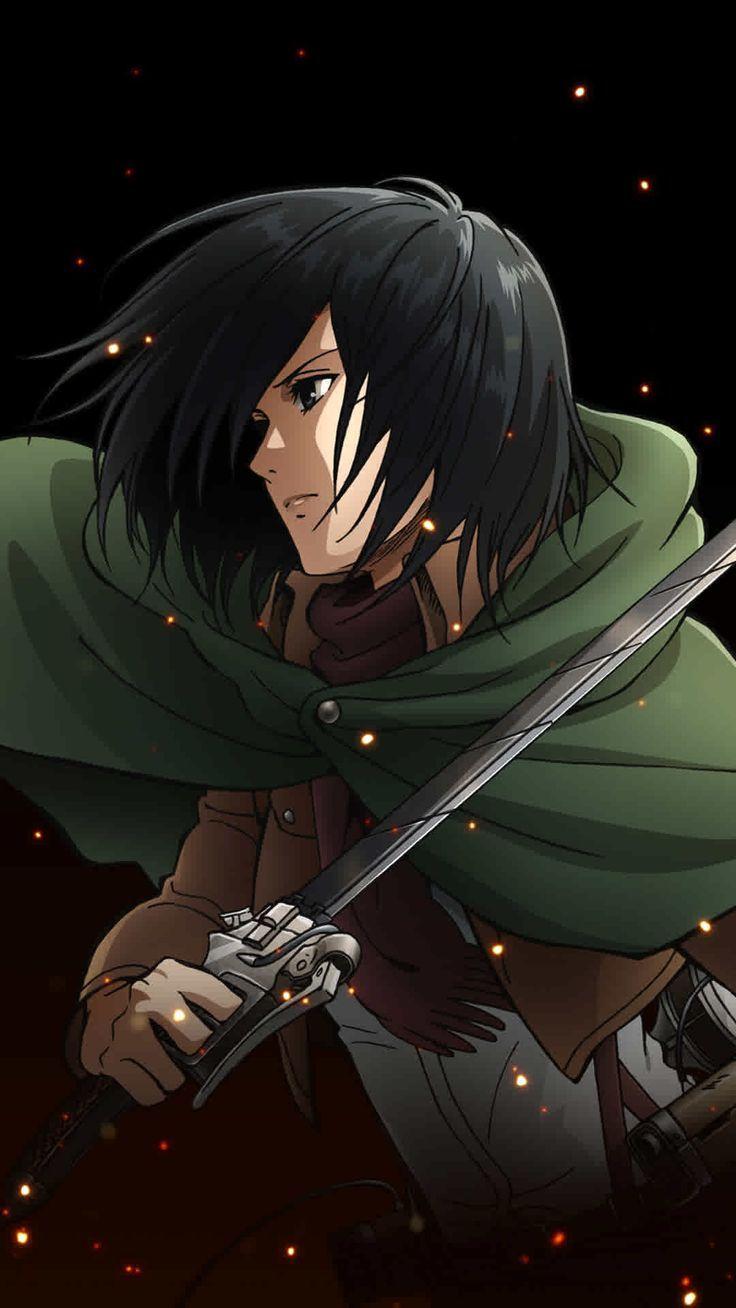 Mikasa Ackerman Mikasa Is Bomb And I Love Her Personagens De Anime Anime Ataque Dos Titas