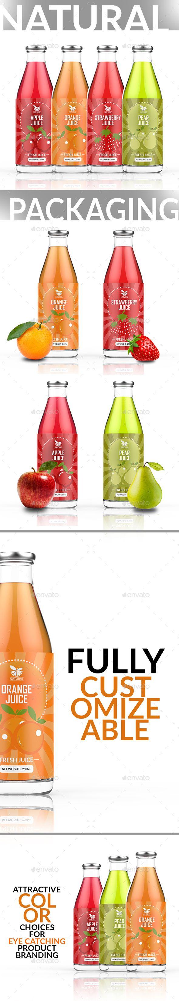 Juice Label Template | Label templates, Ai illustrator and Juice