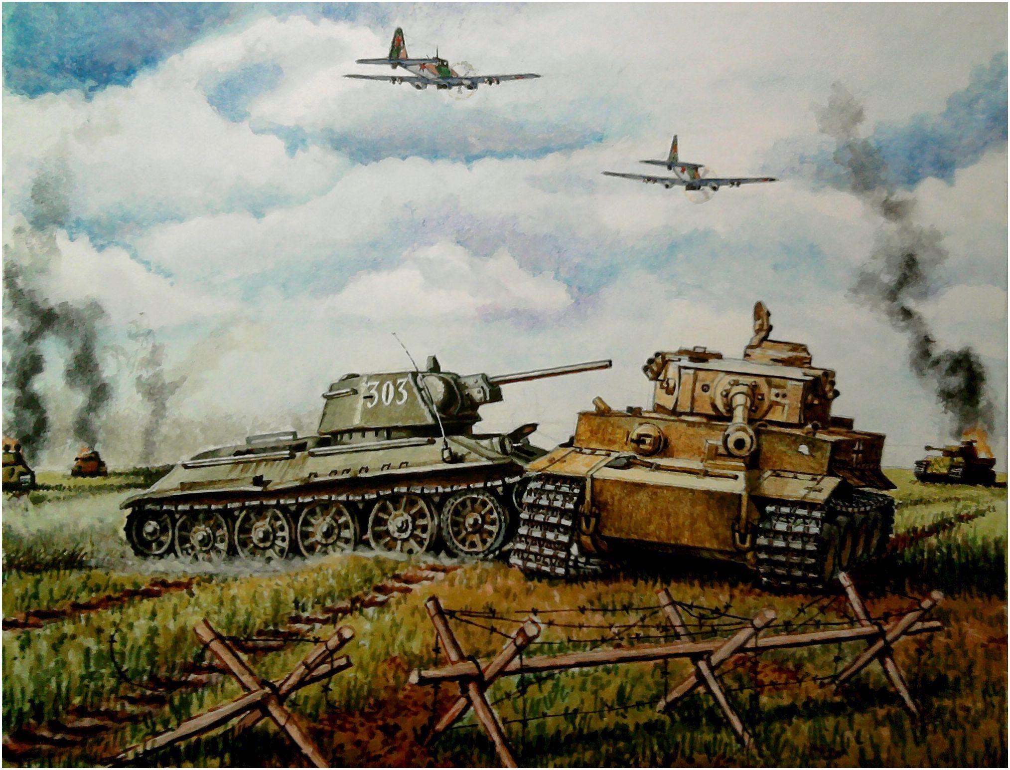 Russian Tank Art – HD Wallpapers