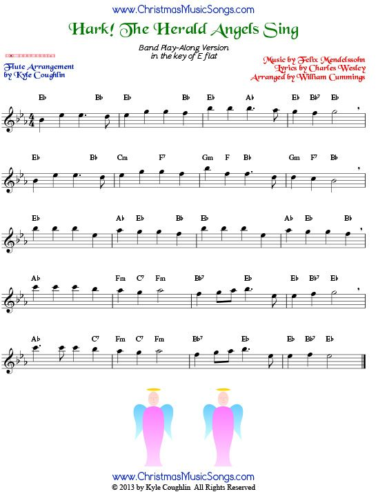 Hark The Herald Angels Sing Sheet Music Pdf Dolapgnetband
