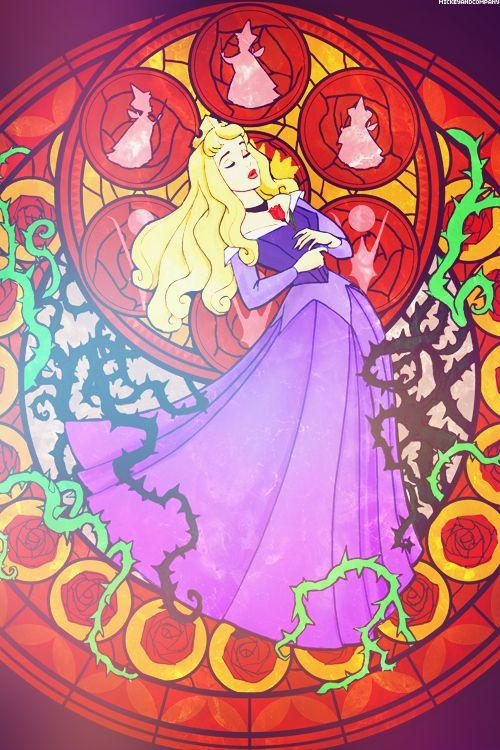 Sleeping Beauty Aurora Disney Wallpaper Kingdom Hearts