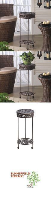 Plant stand 29514 Plant stand Round potted plant holder made of cast iron cast