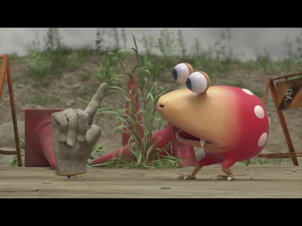 The Pikmin Confusing The Bulborb Smash Brothers Short Movies Geeky