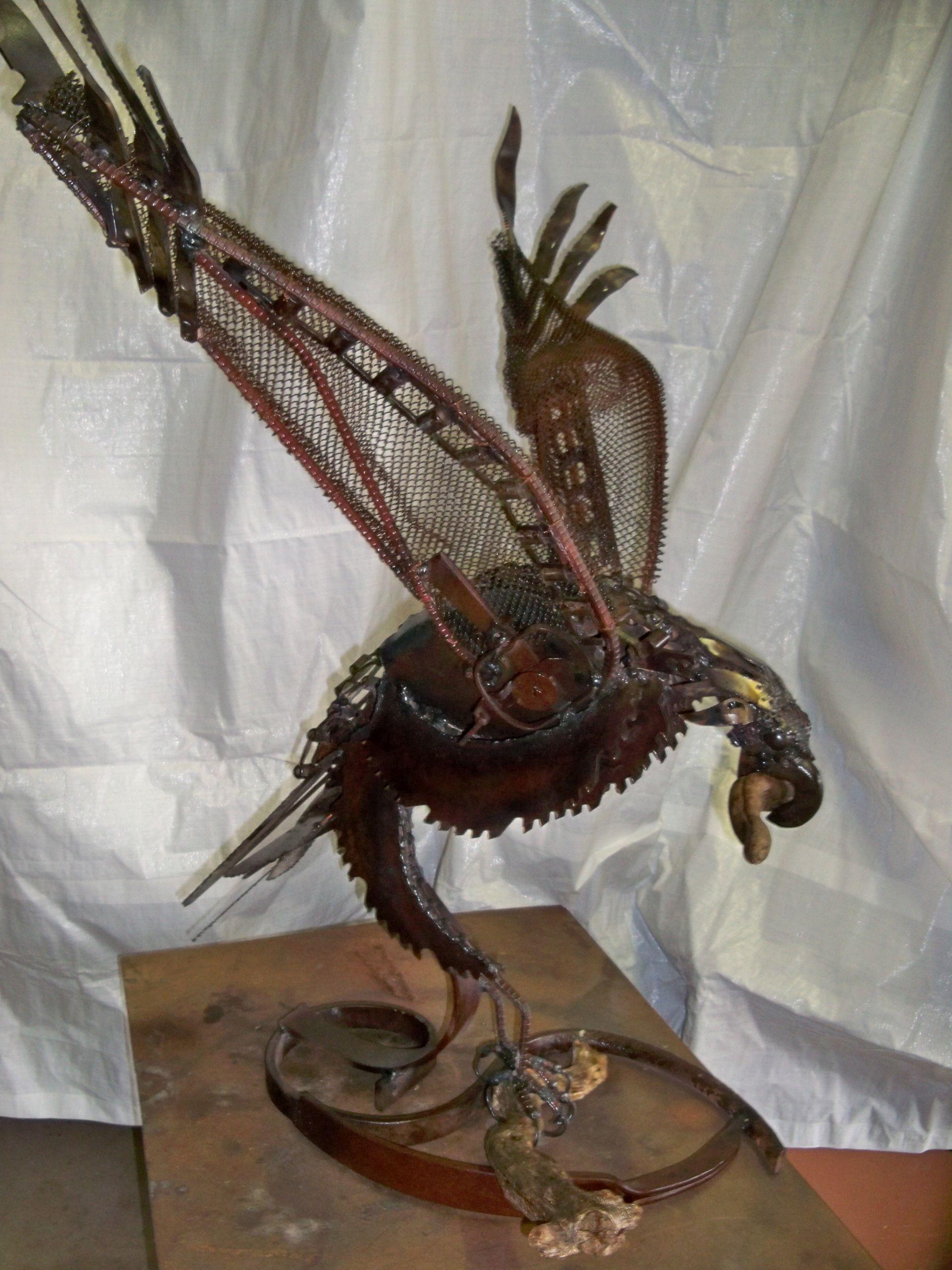 metal sculpture artists edinburgh