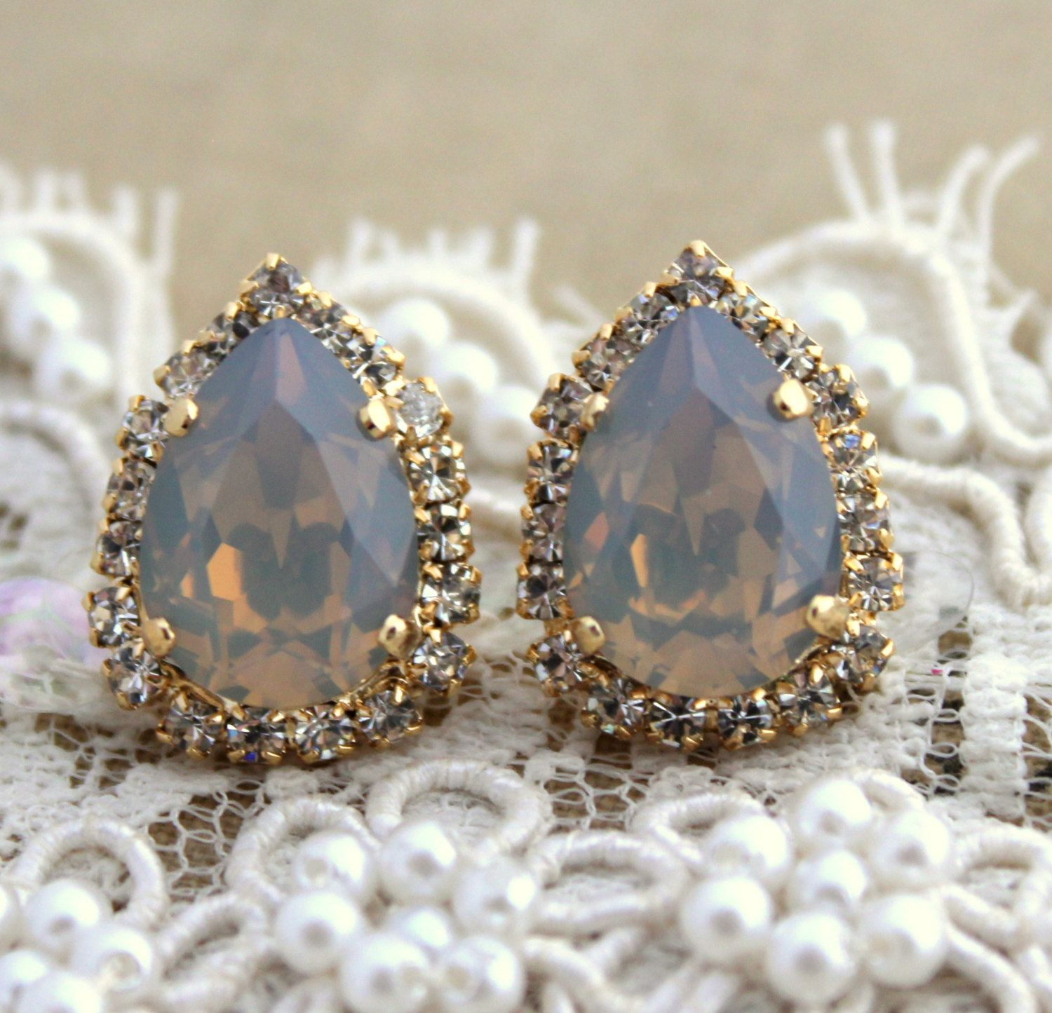 gold colorful real stud opal oval jewellery earrings bright gems flashopal studs
