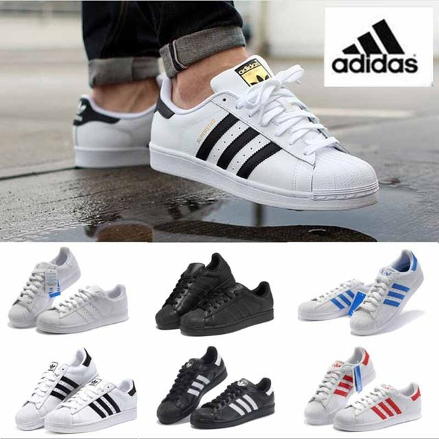 2016 New Fashion shoes Top Quality Men Women Originals GOLD and black White  36-44 Free shipping