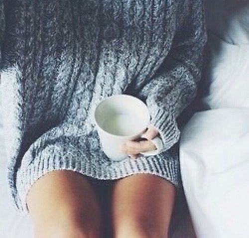 Imagem de sweater, winter, and coffee