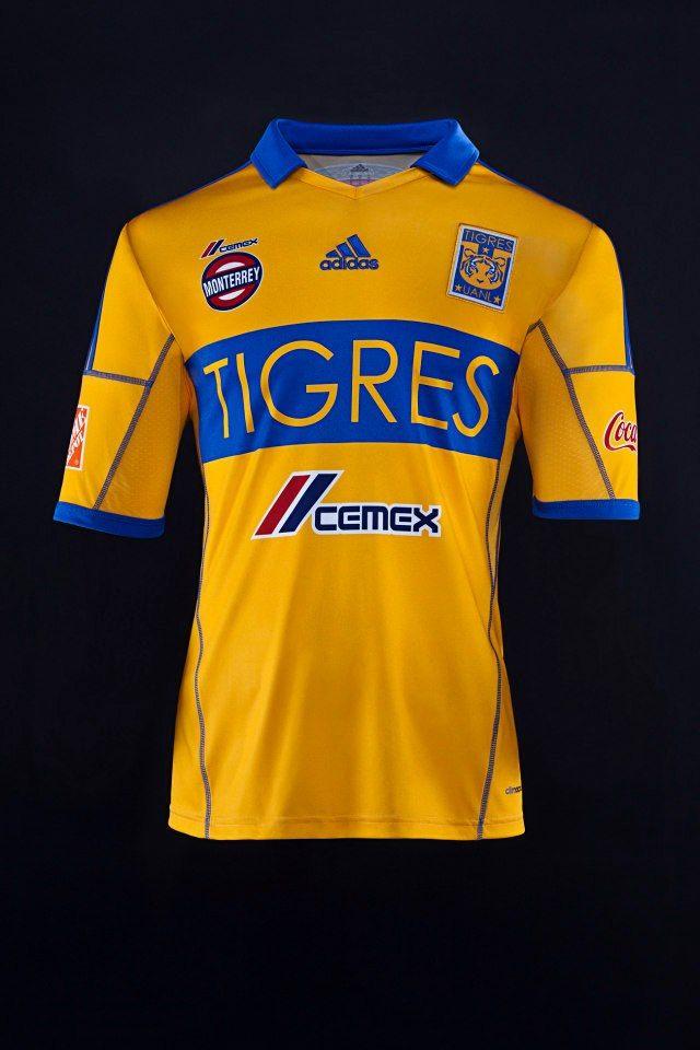 Jersey Tigres Local 2013 Equipo Tigres 8f4d6c0c3cc94