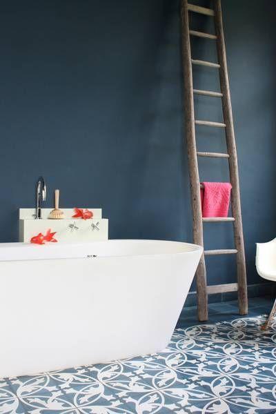 Idée décoration Salle de bain Une salle de bain à la mode design