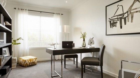 Casa de un piso moderna dos fachadas y dise o interior rooms - Estudio de interiores ...