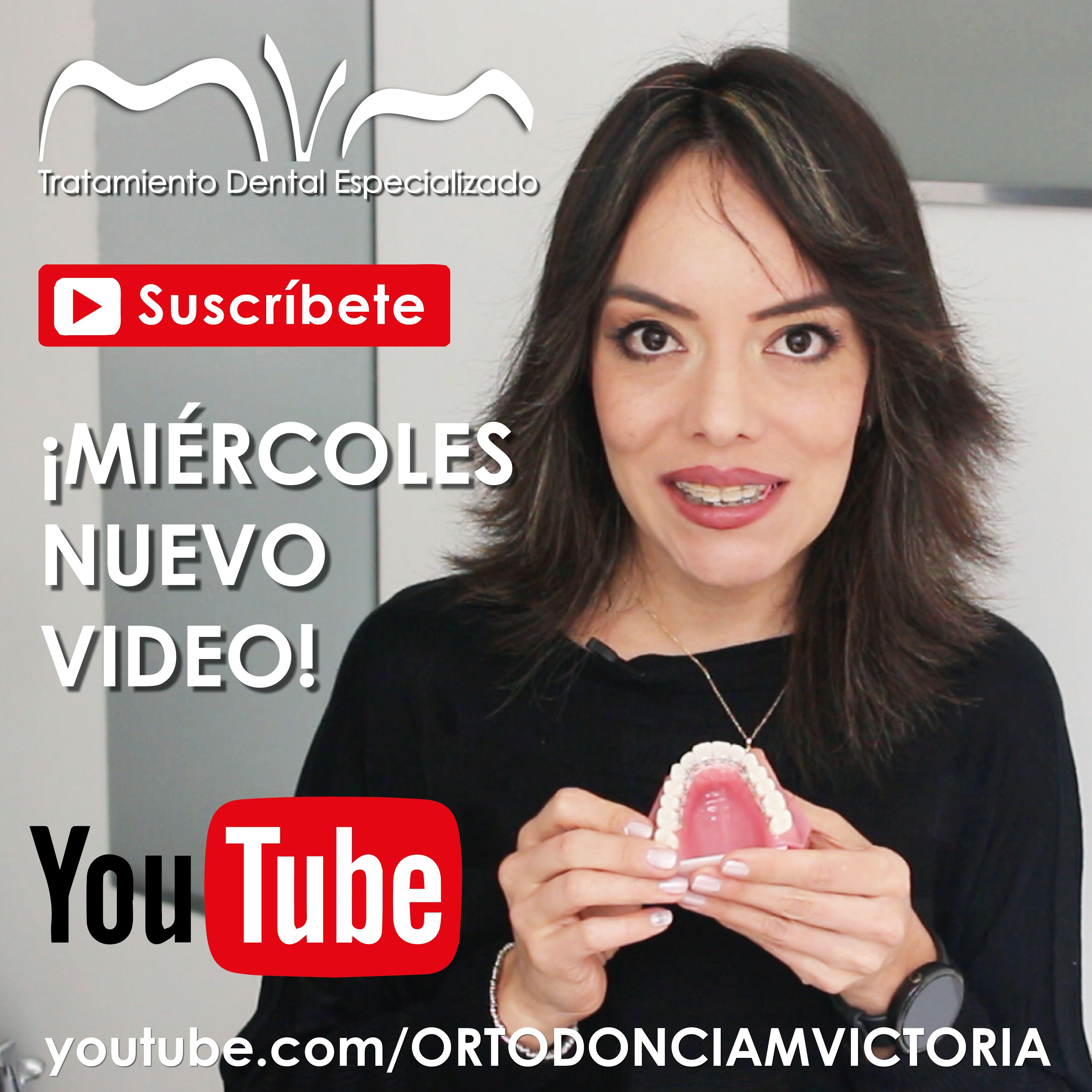 EL MIÉRCOLES ESPERA UN NUEVO VIDEO EN NUESTRO CANAL DE YOUTUBE: ORTODONCIA MVM | SUSCRÍBETE NO TE LO PIERDAS -----> http://www.youtube.com/ORTODONCIAMVICTORIA Consúltanos tus dudas. www.ortodonciamvm.com Consultas: 8053784 - 6363236 Móvil 313 395 99 97 WhatsApp 321 4595296 Bogotá-Colombia